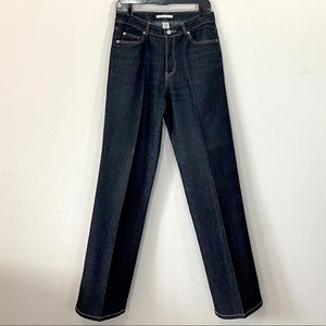 CAbi Straight Leg 5 Pocket Jeans Like New